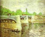 The Siene with the Pont de la Grande Jatte by  Vincent Van Gogh (Painting ID: VG-0317-KA)
