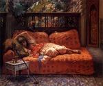 The Siesta by  Frederick Arthur Bridgman (Painting ID: ER-0066-KA)