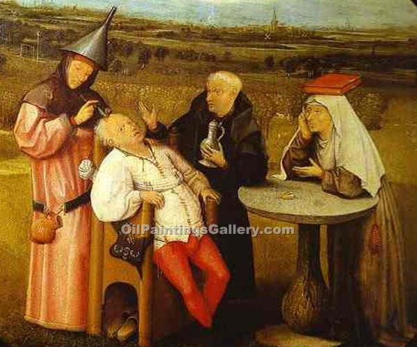 """The Stone Operation"" by  Hieronymus Bosch"
