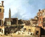 The Stonemasons Yard by  Antonio Canaletto (Painting ID: CI-2033-KA)