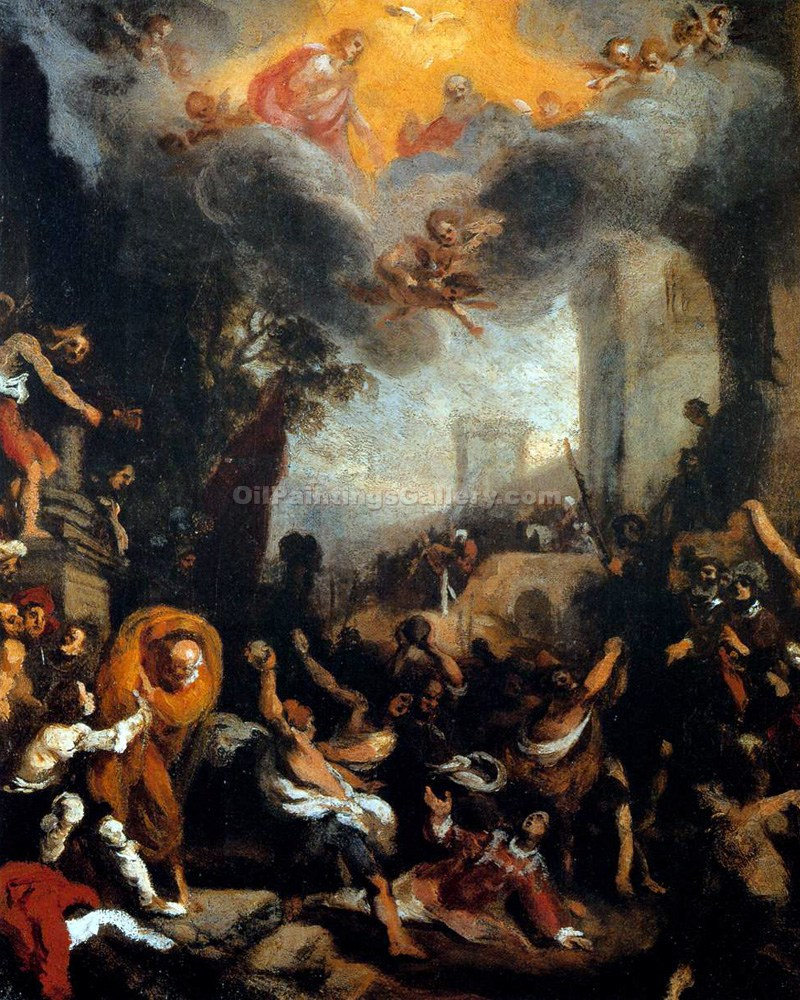 """The Stoning of Stephen"" by  Lodovico Cardi Cigoli"