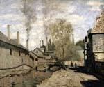 The Stream of Robec Rouen by  Claude Monet (Painting ID: MO-1275-KA)