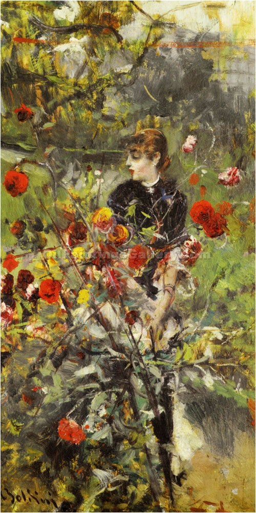 """The Summer Roses"" by  Giovanni Boldini"