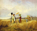 The Sunday Walk by  Carl Spitzweg (Painting ID: CO-1068-KA)