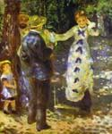 The Swing 18 by  Pierre Auguste Renoir (Painting ID: CL-4418-KA)