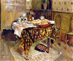 The Table Setting  by  Edouard Vuillard (Painting ID: SL-0401-KA)