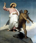 The Temptation of Christ 30 by  Ary Scheffer (Painting ID: CL-0230-KA)