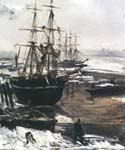 The Thames in Ice by  James McNeill  Whistler (Painting ID: LA-1801-KA)