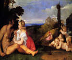 The Three Ages of Man by   Titian (Painting ID: DA-0052-KA)