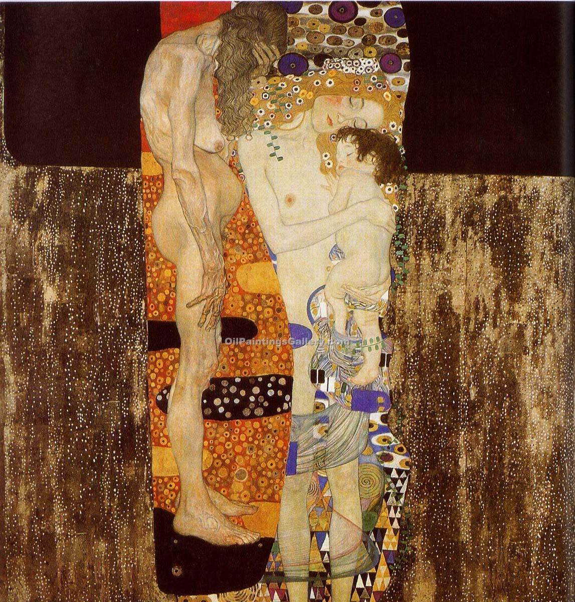 """The Three Ages of Woman"" by  Gustav Klimt"