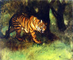 The Tiger by  Arthur Bowen Davis (Painting ID: AN-2242-KA)