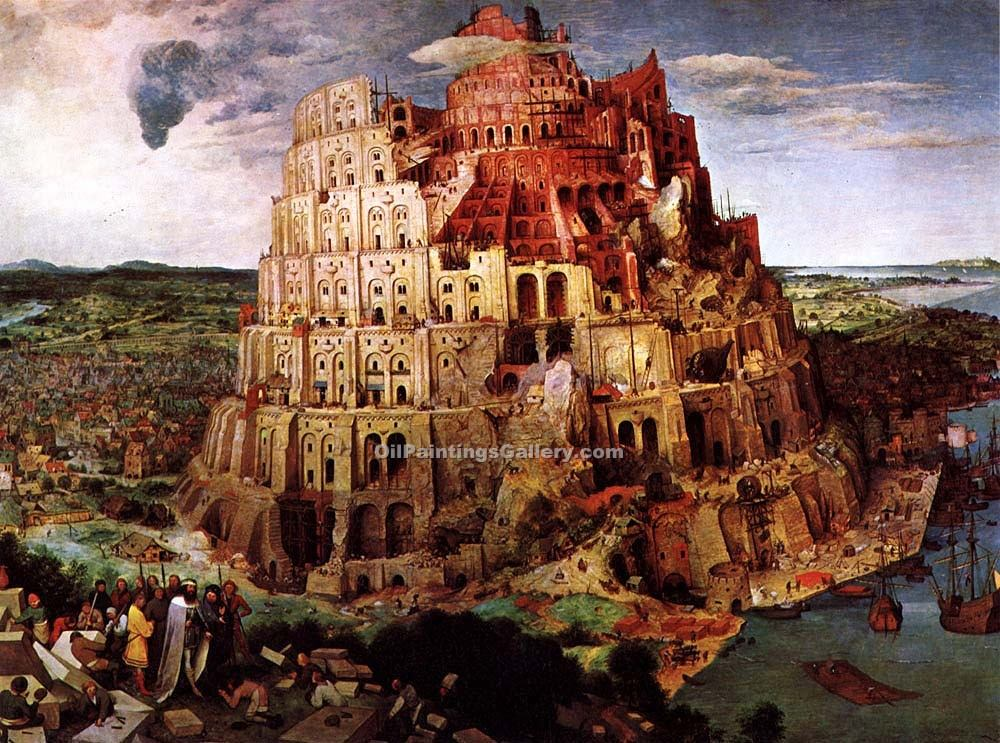 """The Tower of Babel"" by  Pieter the Elder Brueghel"