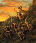 The Trail of the Cougar by  Edmund H. Osthaus (Painting ID: AN-0463-KA)