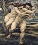 The Tree o Forgiveness by  Edward Burne Jones (Painting ID: CL-7007-KA)