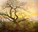 The Tree of Crows by  Caspar David Friedrich (Painting ID: LA-5862-KA)