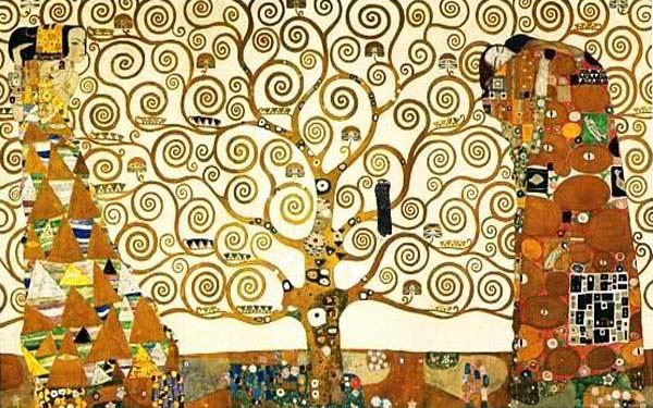"""The Tree of Life"" by  Gustav Klimt"