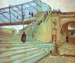 The Trinquetaille Bridge by  Vincent Van Gogh (Painting ID: VG-0310-KA)