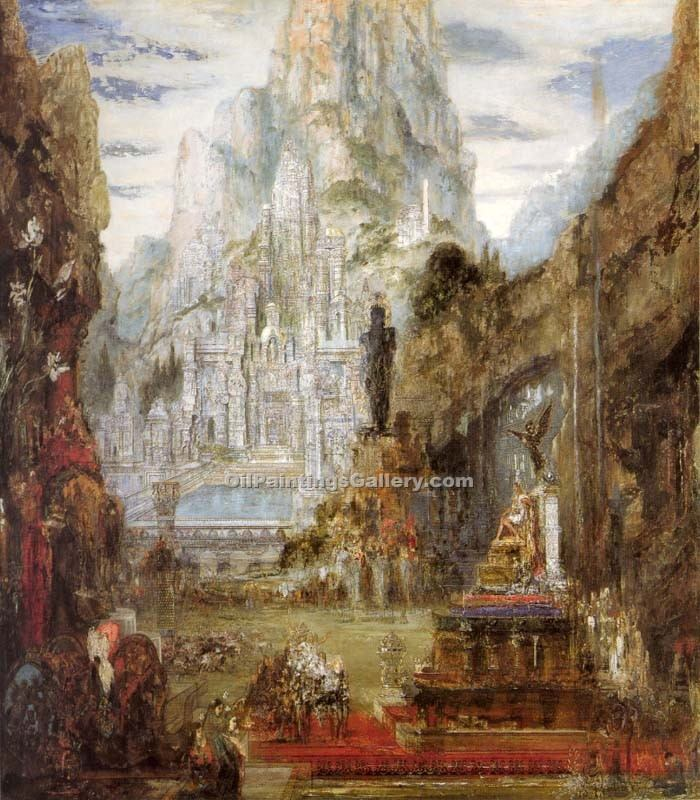 """The Triumph of Alexander the Great"" by  Gustave Moreau"