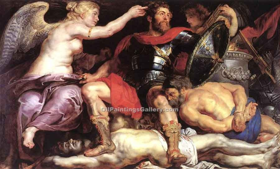 """The Triumph of Victory"" by  Peter Paul Rubens"
