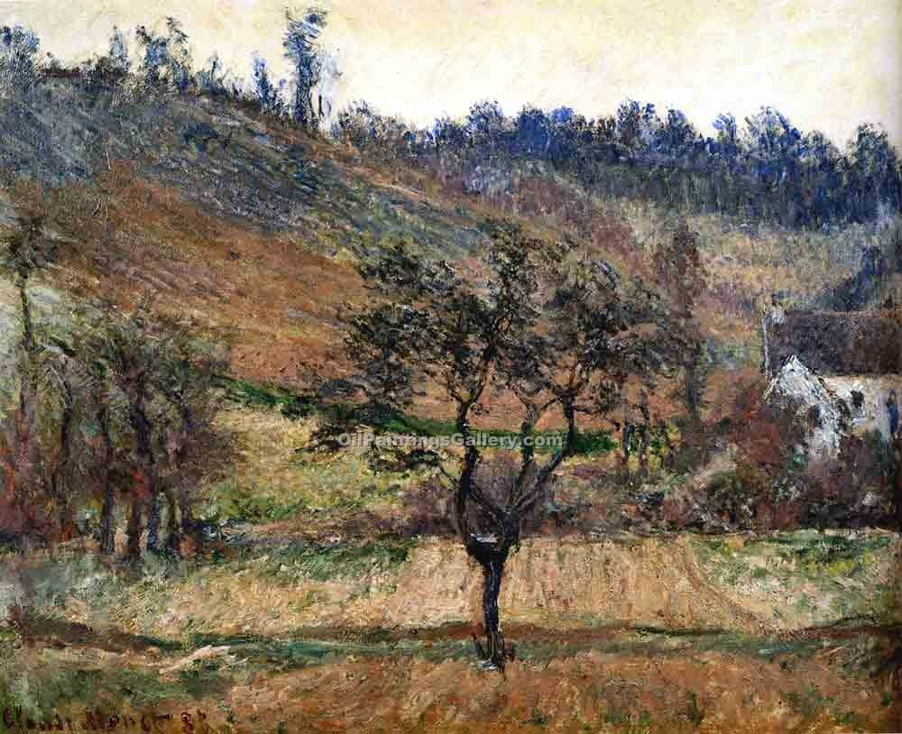 """The Valley of Falaise"" by  Claude Monet"