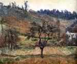 The Valley of Falaise by  Claude Monet (Painting ID: MO-1248-KA)