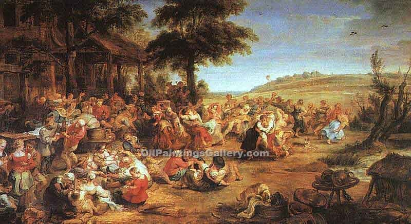 """The Village Fete"" by  Peter Paul Rubens"