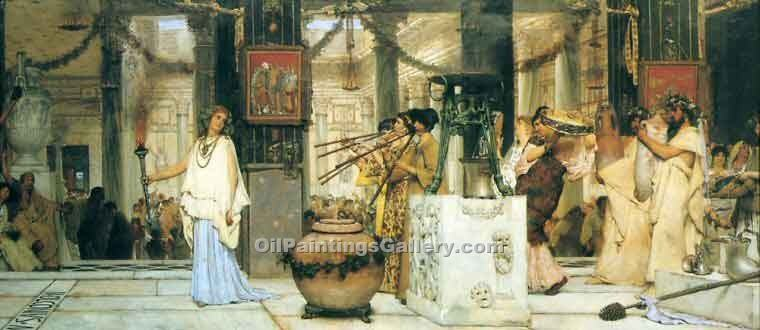 """The Vintage Festival"" by  Sir Lawrence Alma Tadema"