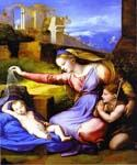 Raphael Oil Paintings