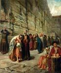 The Wailing Wall Jerusalem 93  (Painting ID: HO-0993-KA)