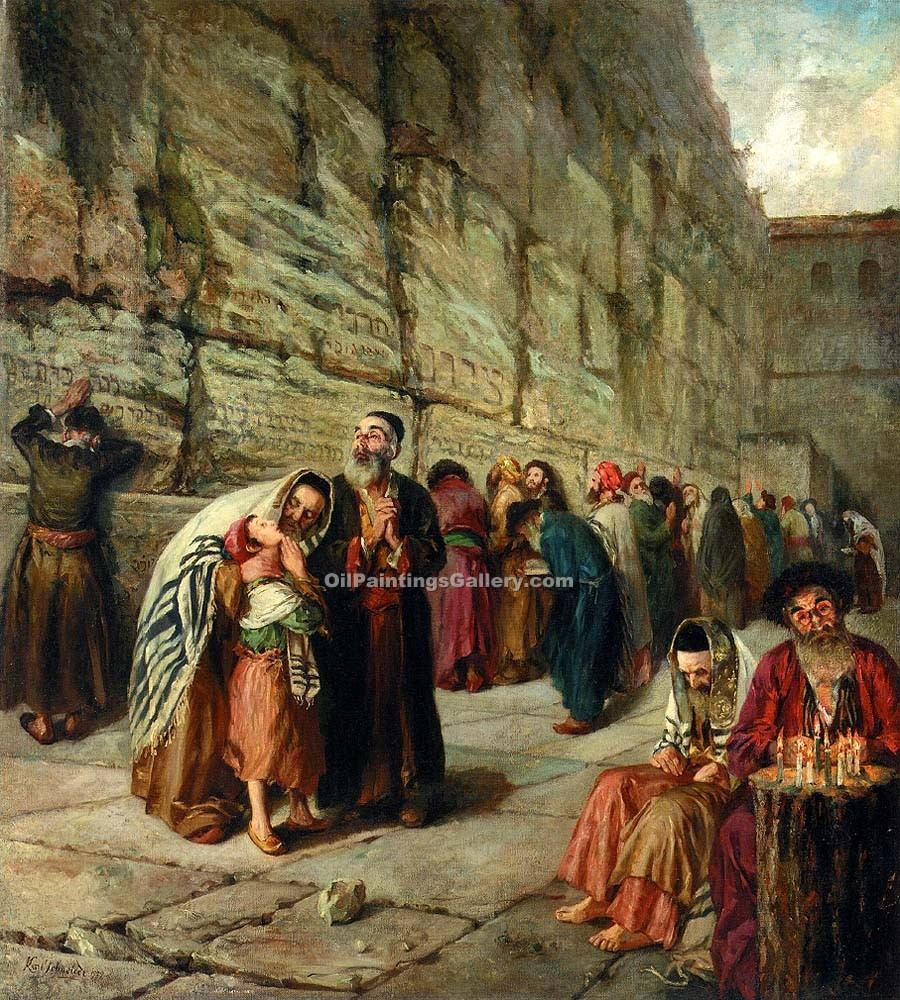 """The Wailing Wall Jerusalem 93"""