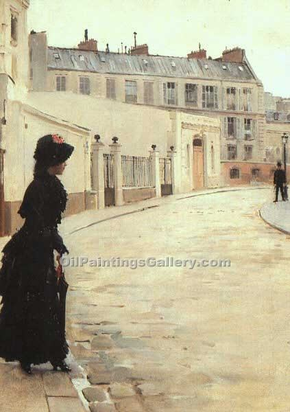"""The Wait Paris"" by  Jean Beraud"