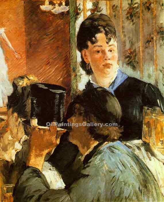 """The Waitress"" by  Edouard Manet"