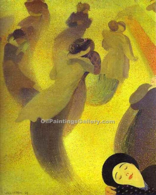 """The Waltz"" by  Felix Vallotton"