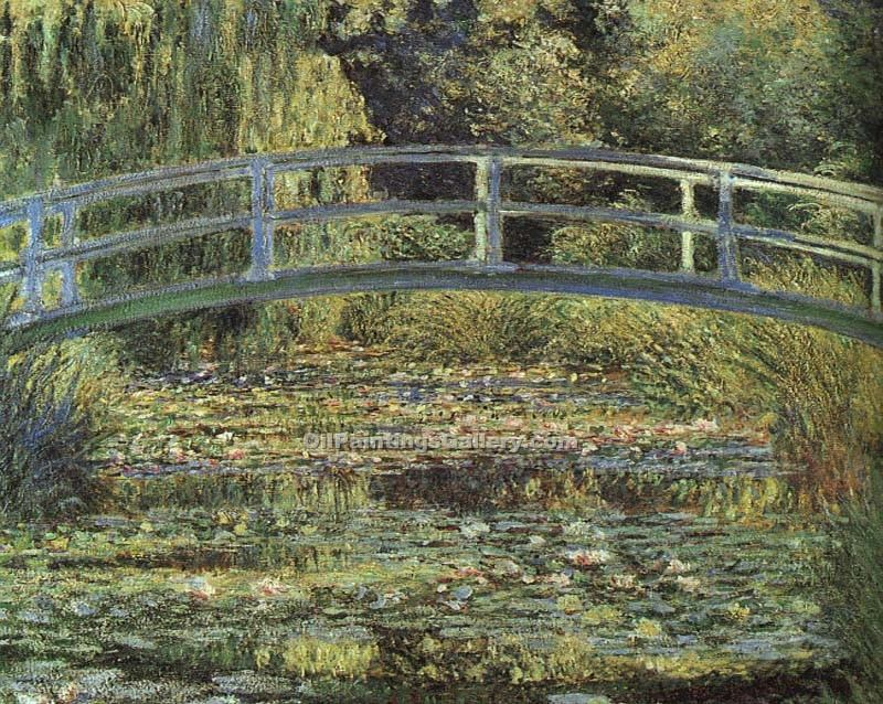 """The Water Lily Pond Pink Harmony"" by  Claude Monet"