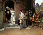 The Wedding 11 by  Adrien Moreau (Painting ID: ED-0211-KA)