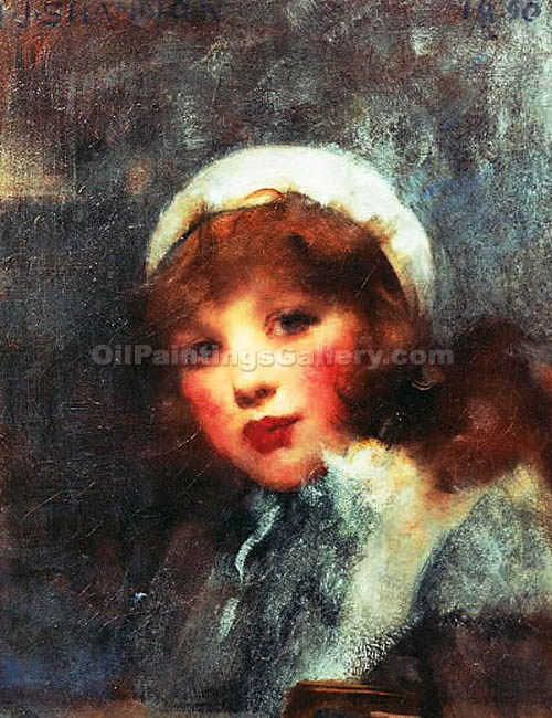 """The White Hat"" by  James Jebusa Shannon"