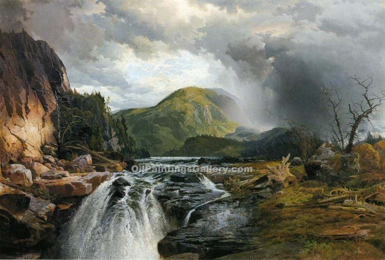 """The Wilds of Lake Superior"" by  Thomas Moran"