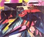 The Wolves by  Franz Marc (Painting ID: AB-0144-KA)