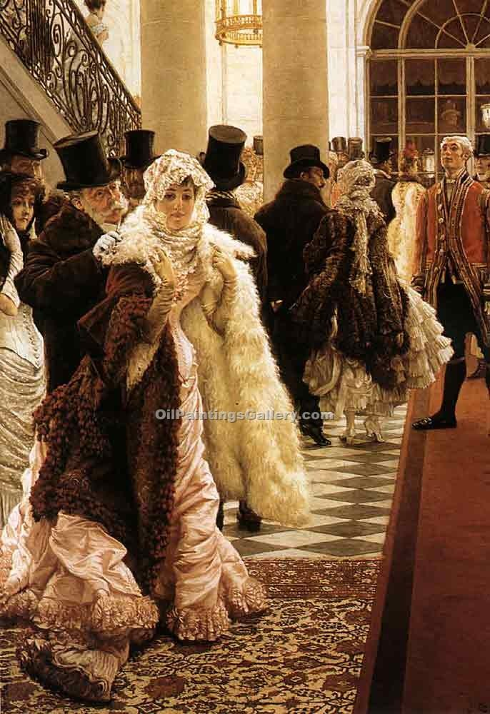 """The Woman of Fashion"" by  James Tissot"
