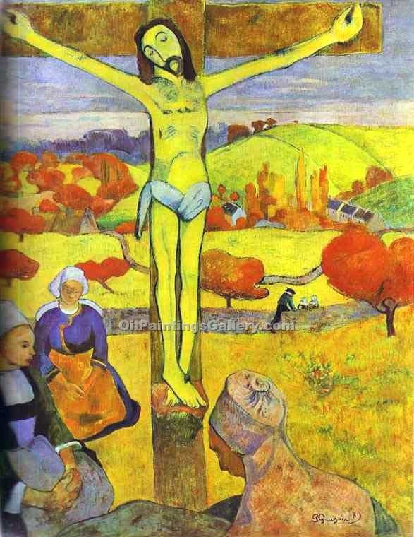"""The Yellow Christ"" by  Paul Gauguin"