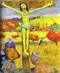 The Yellow Christ by  Paul Gauguin (Painting ID: GA-0270-KA)