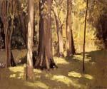 The Yerres Effect of Light by  Gustave Caillebotte (Painting ID: LA-6000-KA)