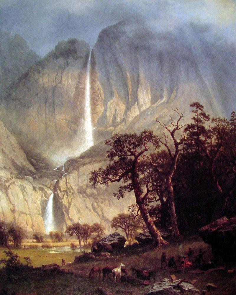 """The Yosemite"" by  Albert Bierstadt"