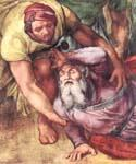 The conversion of Saul (detail) by  Buonarroti Michelangelo (Painting ID: DA-2116-KA)