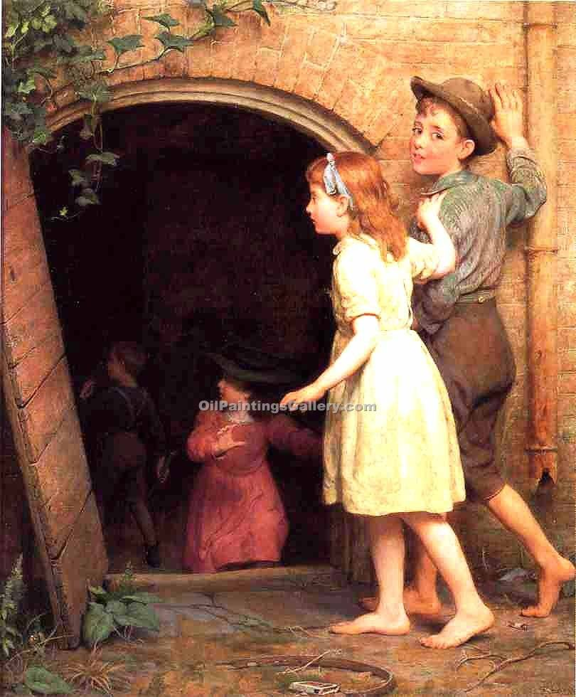 """The hunted Cellar (who s Afraid)"" by  Seymour Joseph Guy"