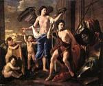 The victorious David by  Nicolas Poussin (Painting ID: CM-1402-KA)