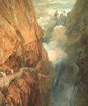 The_Passage of the St Gothard by  William Turner (Painting ID: LA-6208-KA)