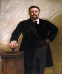 Theodore Roosevelt, 26th President, Painted by John Singer Sargent  (Painting ID: CM-0026-KA)