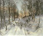 Through Calm and Frosty Air by  Joseph Farquharson (Painting ID: AN-1000-KA)