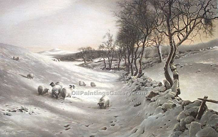 """Through the Crisp Air"" by  Joseph Farquharson"